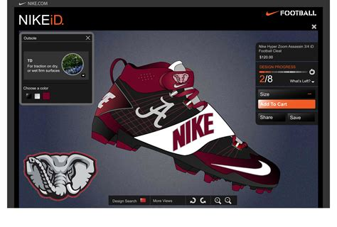 alabama football shoes alabama football cleats myideasbedroom