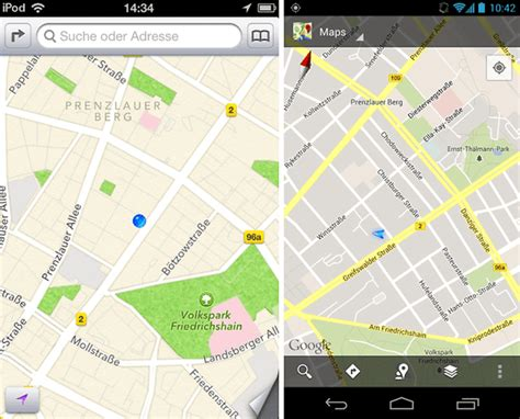 apple maps for android ios 6 vs android 4 1 how apple s newest features compare to android androidpit