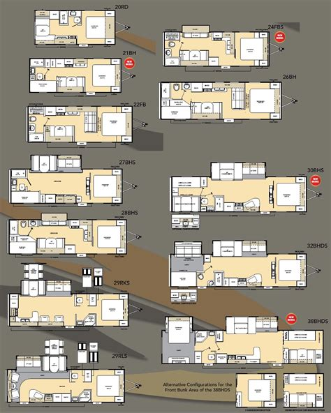 catalina rv floor plans coachmen catalina travel trailer floorplans large picture