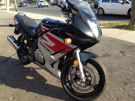 Suzuki 500cc Motorcycle Buy 2005 Suzuki Gs500f Only 1000 500cc 6spd On