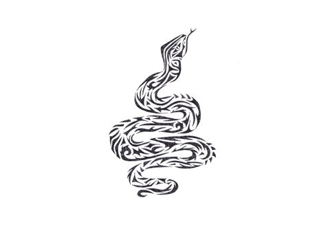 cobra tattoo design 36 tribal snake designs and ideas