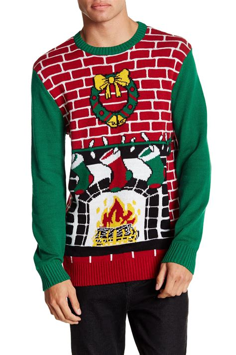 Sweater With Fireplace by Sweater Fireplace Knit Sweater