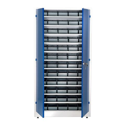 Parts Cabinet by Small Parts Cabinet 1900x1000x400mm 60 Bins Aj Products