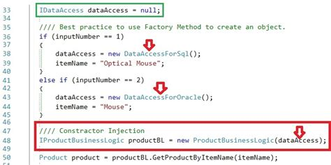dependency injection using setter method application architecture first know dependency before