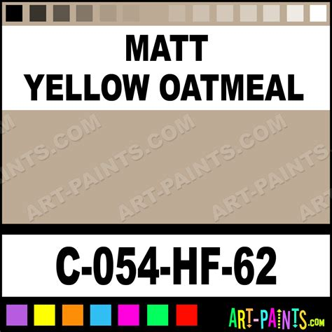 matt yellow oatmeal high ceramic paints c 054 hf 62 matt yellow oatmeal paint