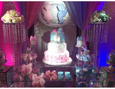 Backyard Birthday Decoration Ideas Gender Reveal Gender Reveal Quot Glam Gender Reveal