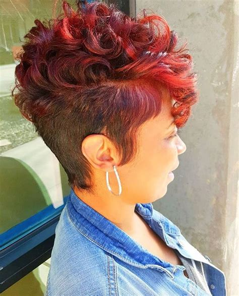 black women with shaved haircuts and color 25 best ideas about black short haircuts on pinterest
