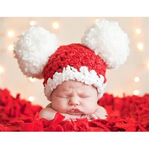 aliexpress com buy christmas baby santa hat toddler girl