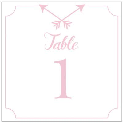 printable number arrow cards arrow table numbers in 12 colors table numbers and