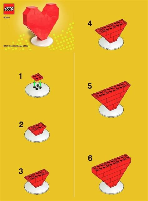 lego boat step by step easy lego valentine instructions nice project to do with