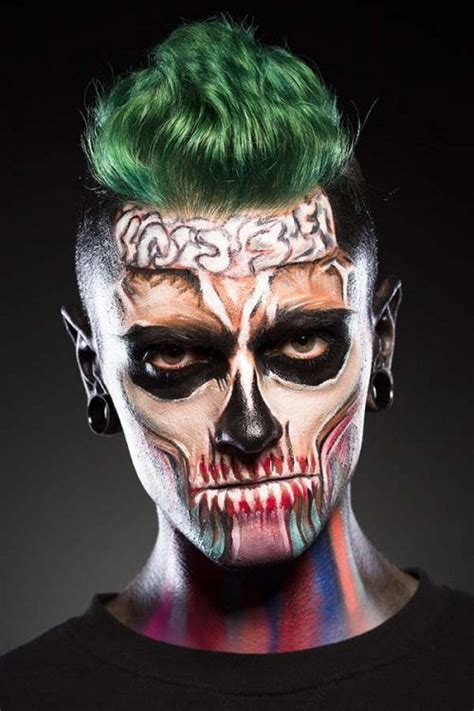collection   trendiest halloween makeup   men
