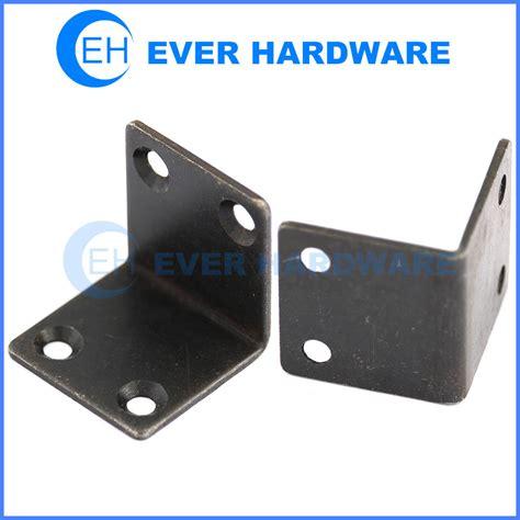 L Bracket angle support bracket galvanised steel l brackets black heavy duty