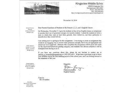 Sle Apology Letter To For Not Doing Homework Apology Letter To For Not Doing Classwork Docoments Ojazlink