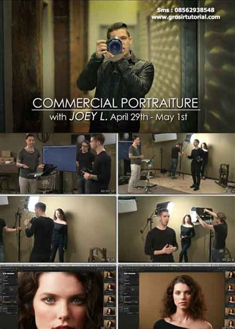 tutorial video fotografi creativelive commercial portraiture with joey l grosir