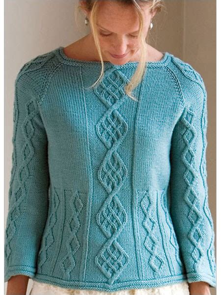 knit down sweater pattern cable down raglan knitting pattern download pullover