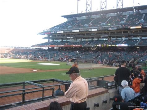 san francisco section at t park section 125 san francisco giants