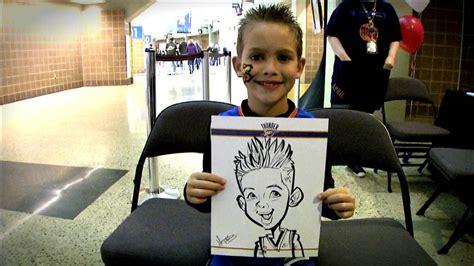 best caricature artist sketchin skatin caricature of hector