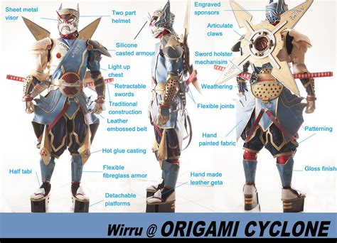 Origami Cyclone - origami cyclone suit by amenokitarou on deviantart