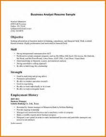 8 resume business objective job bid template