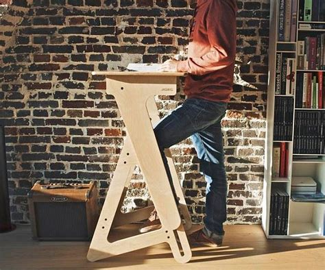 wood standing desk adjustable height adjustable wood standing desk