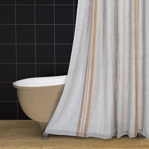 Linen Shower Curtains Coyuchi Rustic Linen Shower Curtain 105rm Save 66
