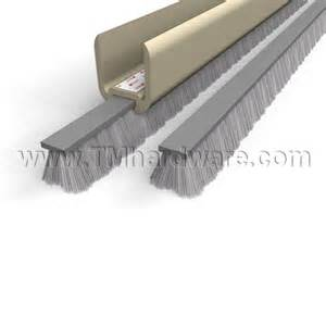 Glass Door Weatherstripping Polypile Brush Weatherstripping Insert Replacement For Glass Doors Sold By Trademark Hardware