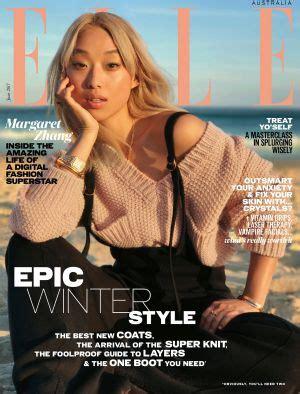 elle australia's new, world first fashion cover starring