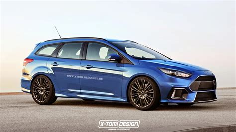 Ford Focu 2016 Ford Focus Rs Rendered As Estate Gtspirit