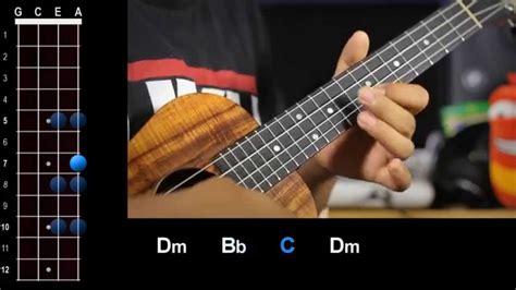 tutorial guitar layla quot layla quot eric clapton ukulele play along youtube