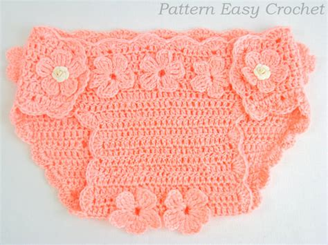 Free Crochet Pattern Baby Diaper Cover
