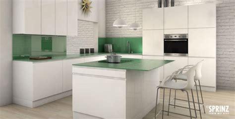 küchenspiegel aus glas r 252 ckwand fliesen k 252 che