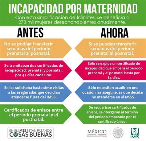 nueva ley de licencia por maternidad 2016 nueva ley de incapacidad por maternidad 2016 en tijuana la