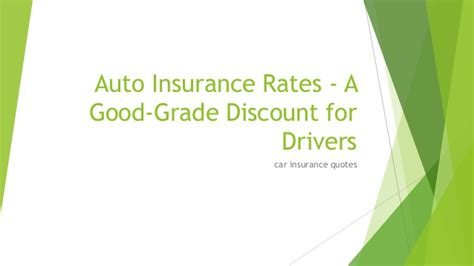 Insurance Quotes Drivers 1 by 11 Auto Insurance Rates A Grade Discount For Drivers