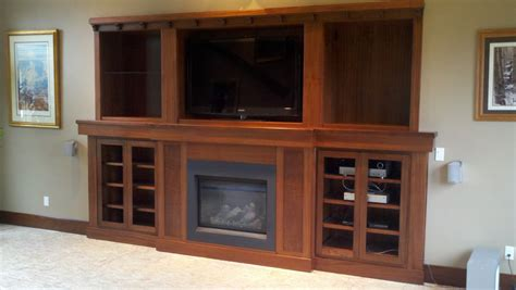 stix s woodworks sapele fireplace entertainment center