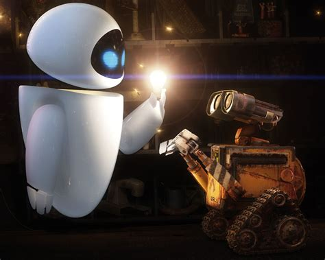 film robot eve wall e itunes adds exclusive extras pixar talk