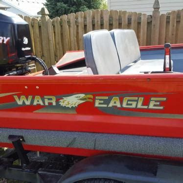 used war eagle boats for sale in illinois war eagle 2005 for sale for 17 000 boats from usa