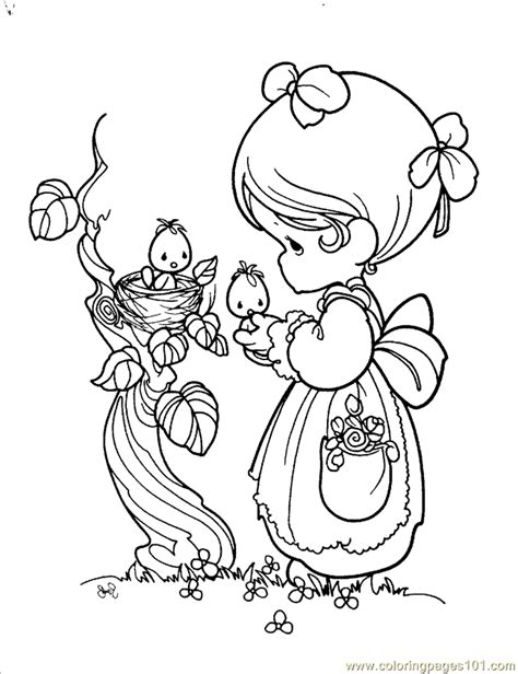 Precious Moments Angel Coloring Pages Coloring Home Free Precious Moments Coloring Pages