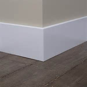 Trim Baseboard Mooie Strakke Hoge Plint Van Hout Wonen Pinterest