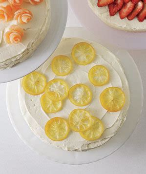 candied lemons 6 easy cake decorating ideas real simple