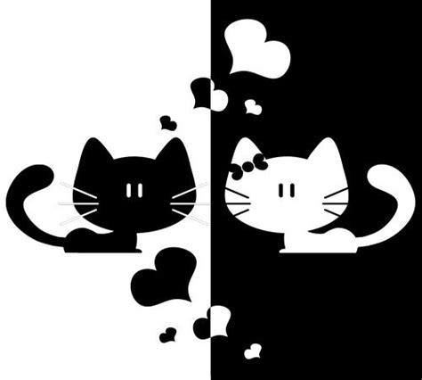 imagenes blanco y negro siluetas siluetas de gatos buscar con google moldes pinterest