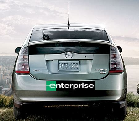 Rent A Tesla San Diego Enterprise Rent A Car Starts Quot Hybrid Branches Quot Bringing