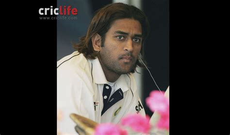 changing hairstyles dhoni hairstyle ms dhoni s changing hairstyles from rustic lad to a