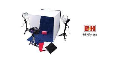 polaroid pro table top photo studio kit polaroid pro table top photo studio kit plpsled b h photo