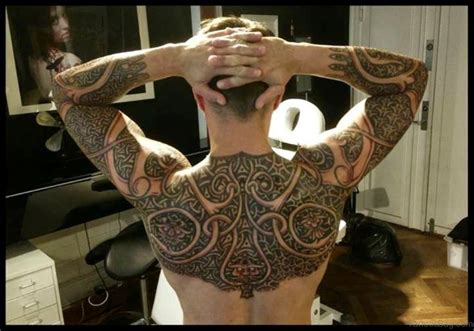 viking armor tattoo 59 alluring viking tattoos for back