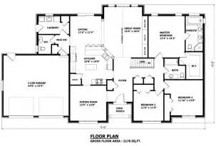 Customizable House Plans by Canadian Home Designs Custom House Plans Stock House