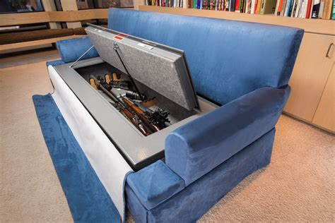 sofa with hidden storage 10 creative secret gun cabinets for your home the truth