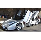 Ferrari Enzo Silver  Cool Car Wallpapers