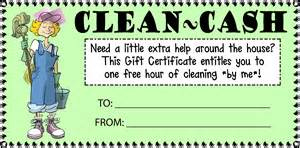 free house cleaning templates 7 best images of printable house cleaning certificate
