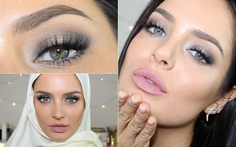 7 Tips For Creating A Glam Look With All White Home Decor Eid Makeup Tutorial Soft Glam Look With Cool Tones