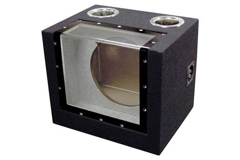 Speaker Subwoofer 12 Inch single 12 inch bandpass ported subwoofer enclosure sub box